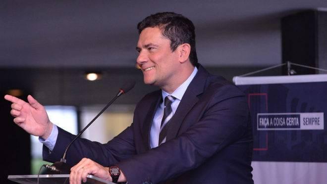 Sergio Moro fala sobre atuação no Ministério da Justiça