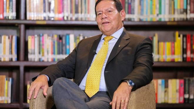 Hamilton Mourão, vice-presidente do Brasil