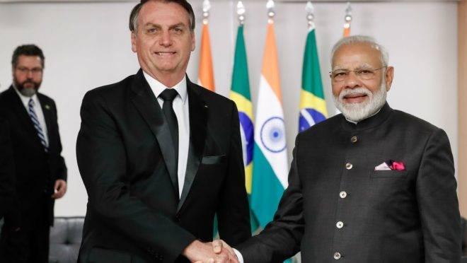 Índia e África serão foco da política externa de Bolsonaro em 2020