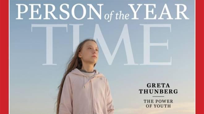Greta Thunberg foi escolhida como pessoa do ano pela revista Time