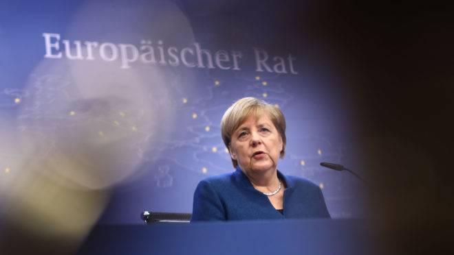 A premiê alemã Angela Merkel.