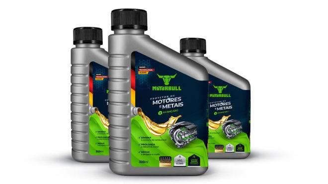 Embalagem de 300ml do protetor de motores Motorbull