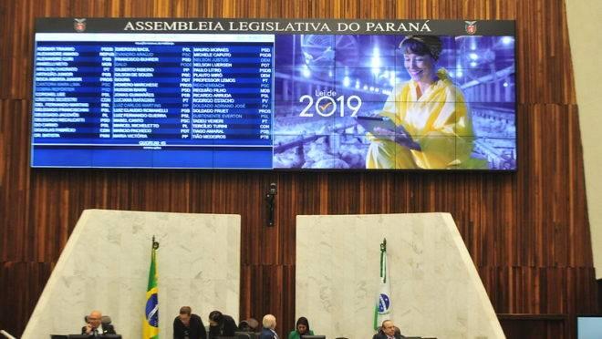 Última sessão plenária de 2019 da Assembleia Legislativa foi realizada nesta quarta-feira (18)