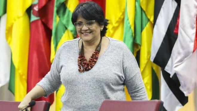 Damares Alves: prioridade do governo é combater a corrupção e proteger a vida