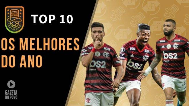 Os melhores do futebol brasileiro em 2019.