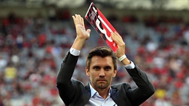 Paulo André se despediu do Athletico nas redes sociais