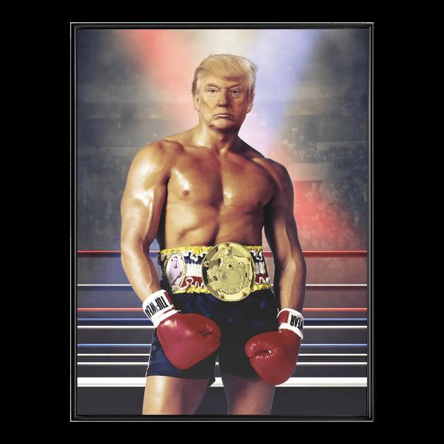 Montagem publicada pelo presidente americano Donald Trump recentemente em seu perfil do Twitter