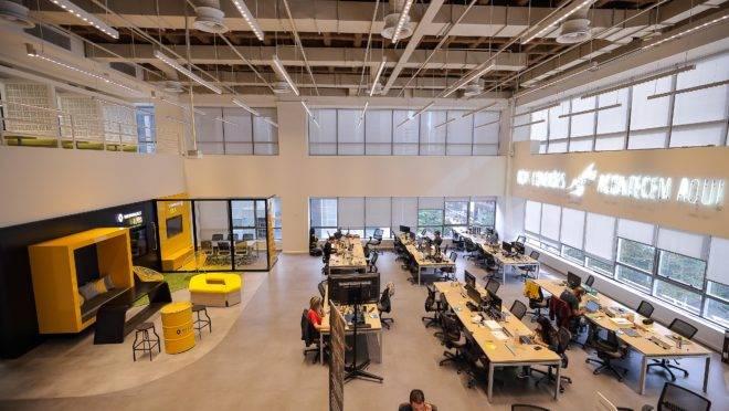 Escritório da Renault dentro do Cubo, o maior hub de inovação da América Latina.