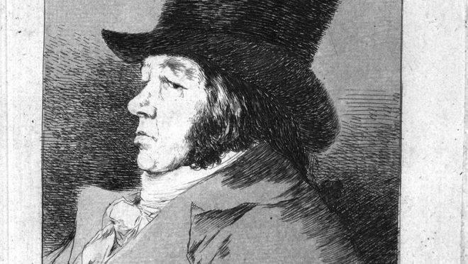 """O autorretrato de Goya é o primeiro """"capricho"""" da exposição que abre hoje à noite no MON   Reprodução"""