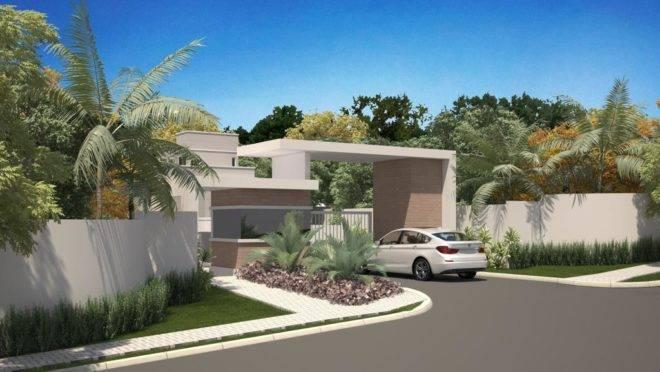 No total, empreendimento terá 26 casas com metragem privativa a partir de 200 m².   Divulgação/CGL