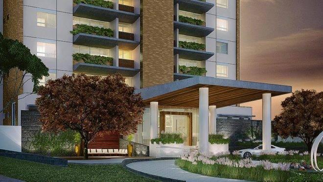 Empreendimento em Pinhais, na Grande Curitiba, terá 12 unidades, sendo duas por andar, com área privativa de 230 m² e área total de 350 m². | Divulgação