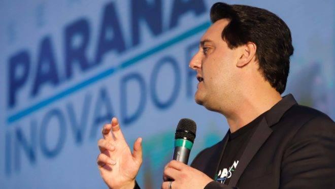 Inovação é uma das bandeiras do governador Carlos Massa Ratinho Junior (PSD)