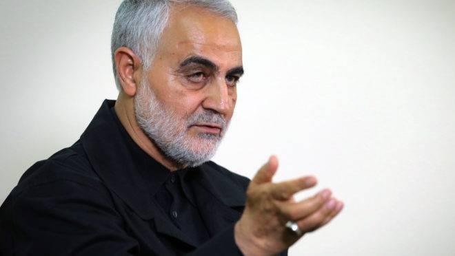 General Qassem Soleimani, do Irã, morreu em bombardeio no Iraque.