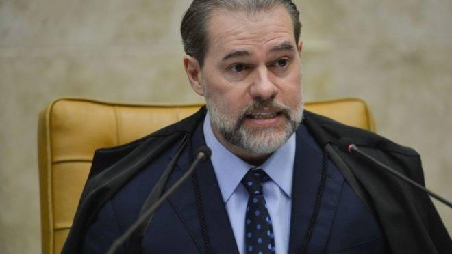 Presidente do STF, Dias Toffoli.