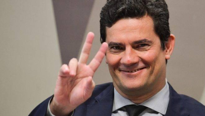 O ministro da Justiça e Segurança Pública, Sergio Moro, é considerado altamente confiável por 33% da população brasileira, segundo o Datafolha.