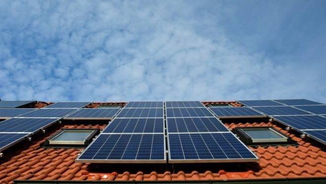Energia solar: Painéis solares