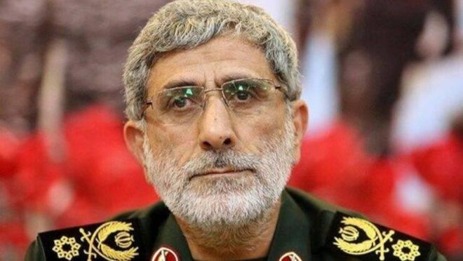 Esmail Ghaani, novo líder iraniano da Força Quds