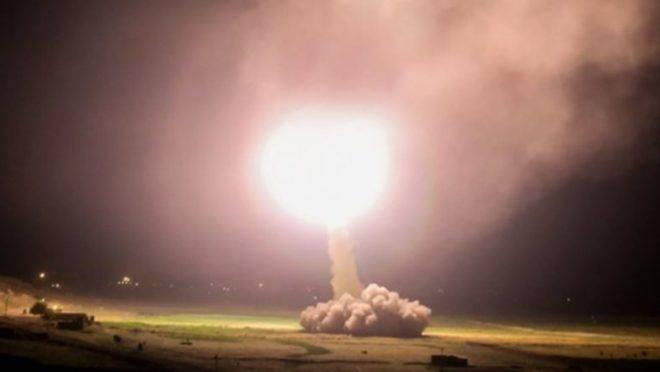 Míssel do Irã lançado contra base dos EUA