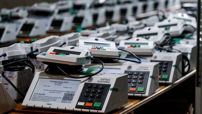 Licitação de urnas eletrônicas