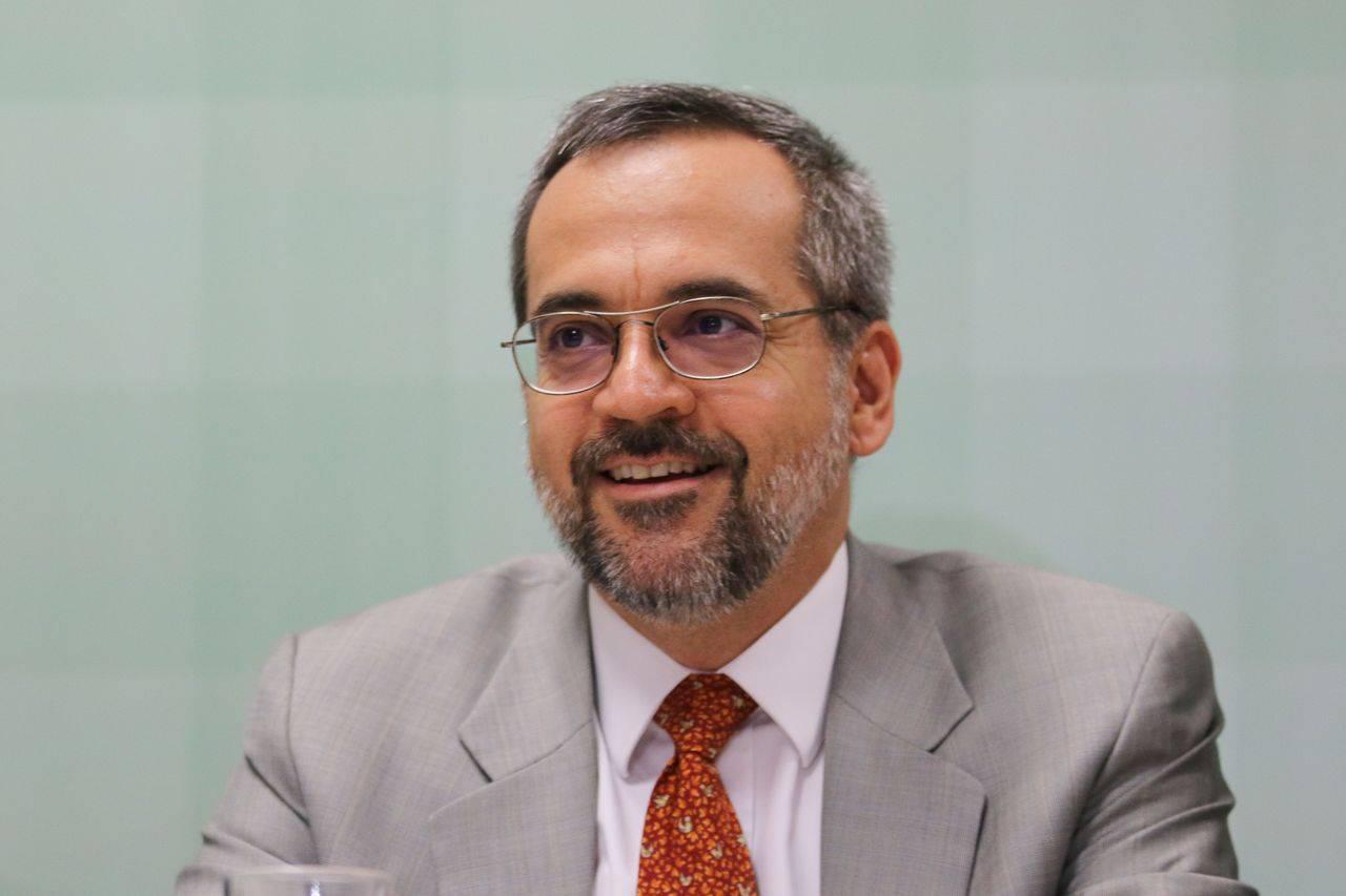 O ministro da educação, Abraham Weintraub.
