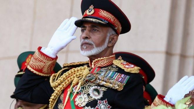 O sultão de Omã, Qaboos bin Said, em foto de 29 de novembro de 2010