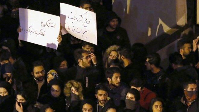 Protestos no Irã