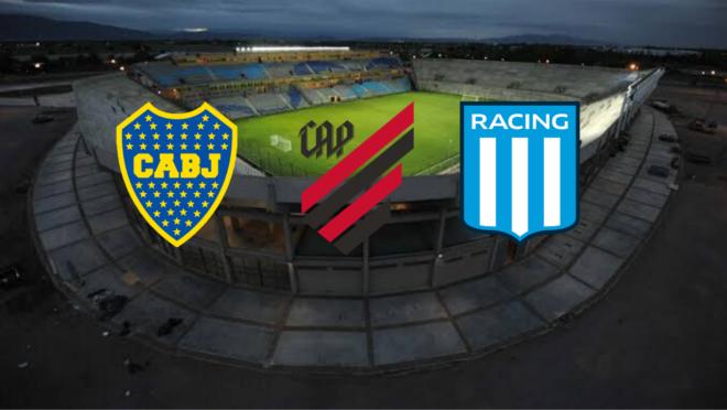 Athletico enfrenta Racing e Boca em torneio amistoso