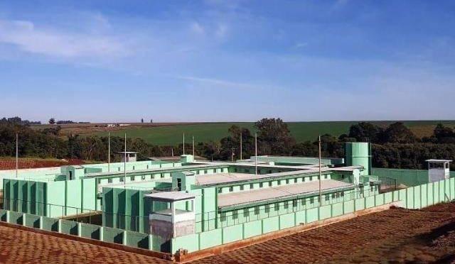 Cadeia Pública de Campo Mourão, executada com recursos do Programa Nacional de Apoio ao Sistema Prisional