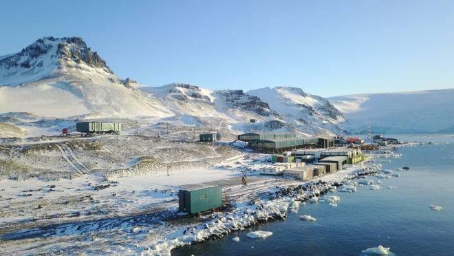 nova estação brasileira na Antártida
