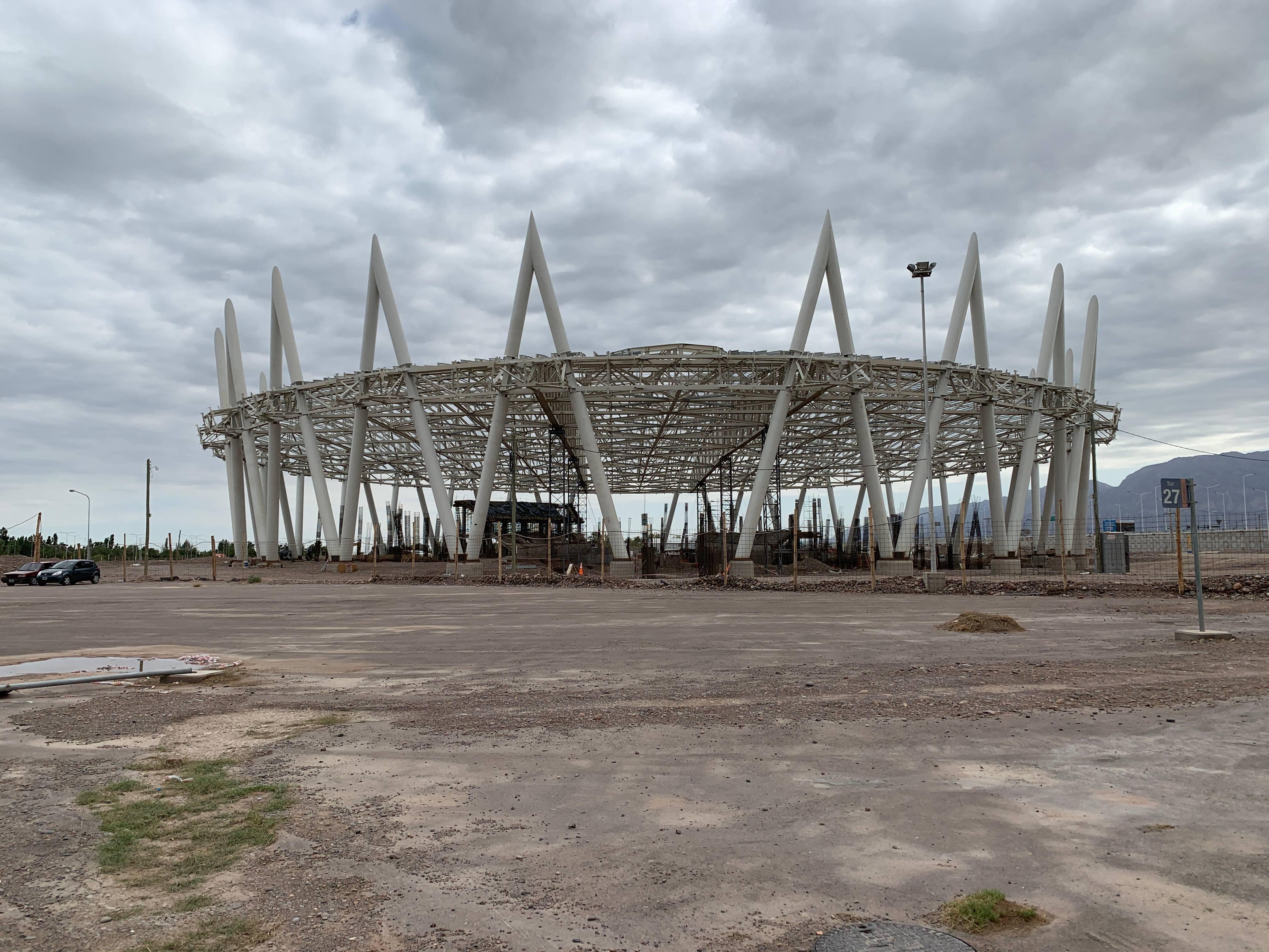 Velódromo em San Juan será o maior da América do Sul | Foto: Raphael Sibilla