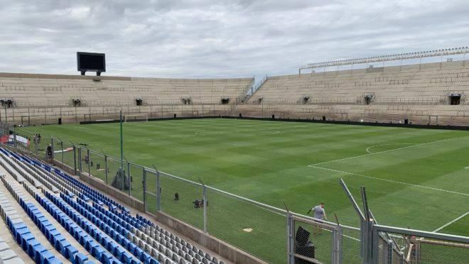 Capacidade do estádio é para 25 mil pessoas