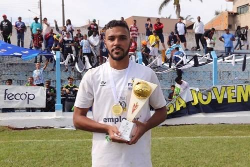 Gerônimo foi o artilheiro da Divisão de Acesso em 2019 com 8 gols. Foto: Divulgação/PSTC