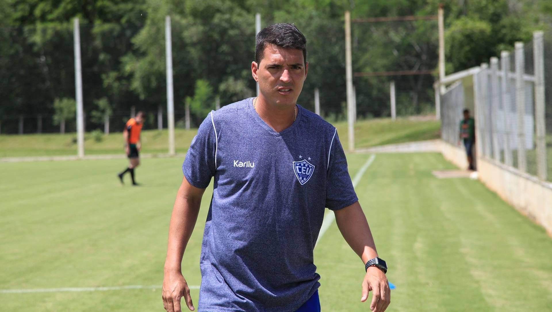 Técnico Raphael Bahia comandará o União Beltrão no Paranaense. Foto: Divulgação/União