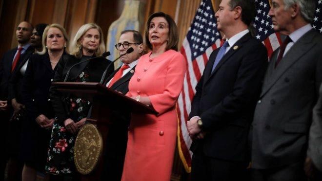 Presidente da Câmara dos Representantes, Nancy Pelosi