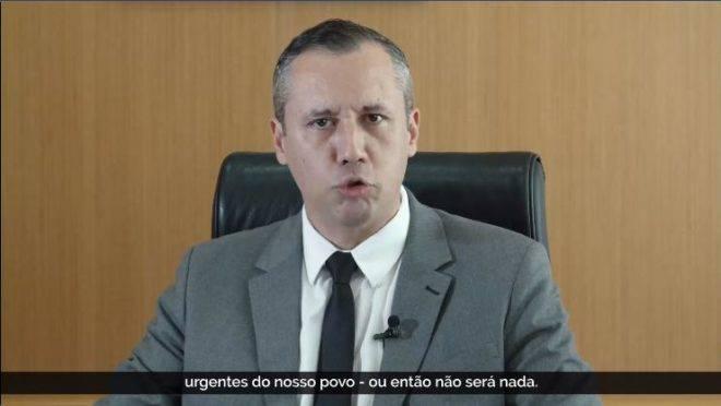 O secretário especial da Cultura, Roberto Alvi