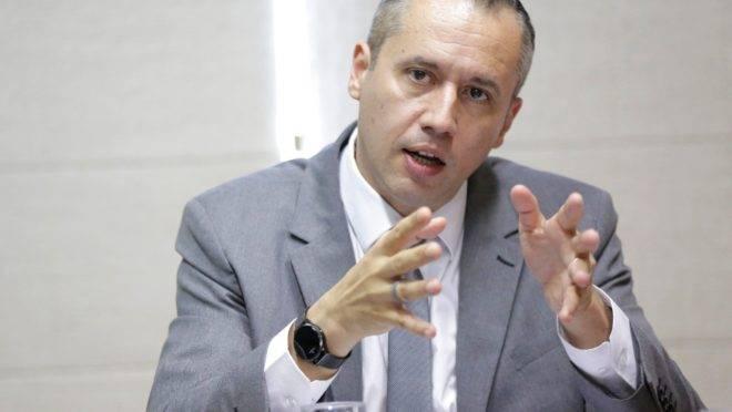 Secretário Nacional de Cultura Roberto Alvim.