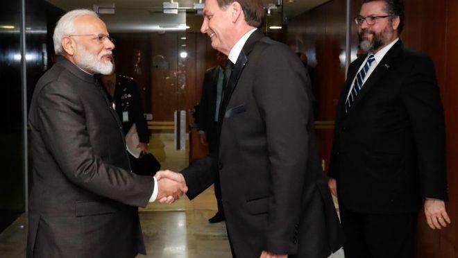 O que Bolsonaro vai fazer na Índia