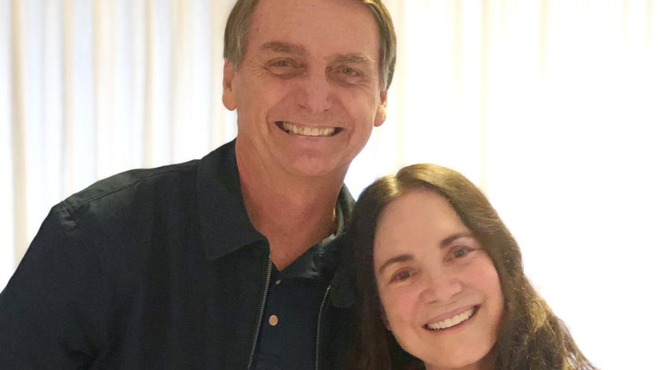Regina Duarte criticou indicação de Roberto Alvim em 2019
