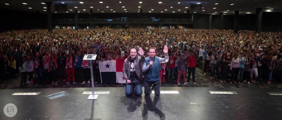 Centro de Convenções em Bogotá, Colômbia | arquivo pessoal Nelson Jr.