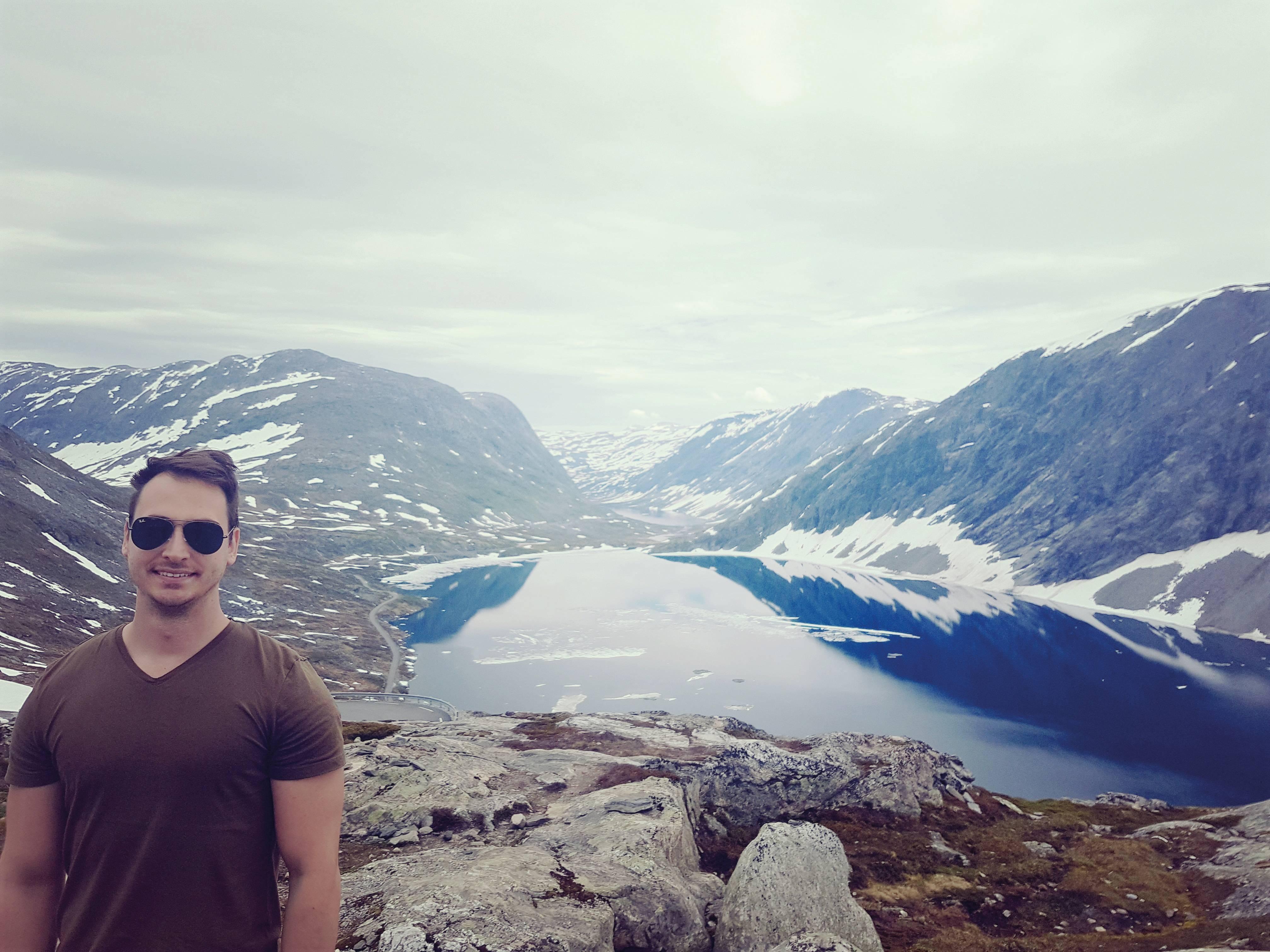 O engenheiro Fabio Corso vive com a família na Suécia. Crédito: Arquivo pessoal.
