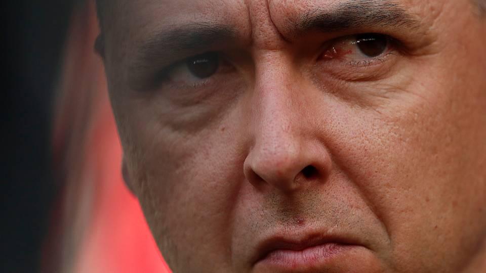 """Tiago Nunes revela mágoa com Petraglia: """"Não esperava nada de diferente"""""""