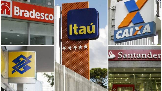 Itaú Banco do Brasil Caixa Santander Bradesco