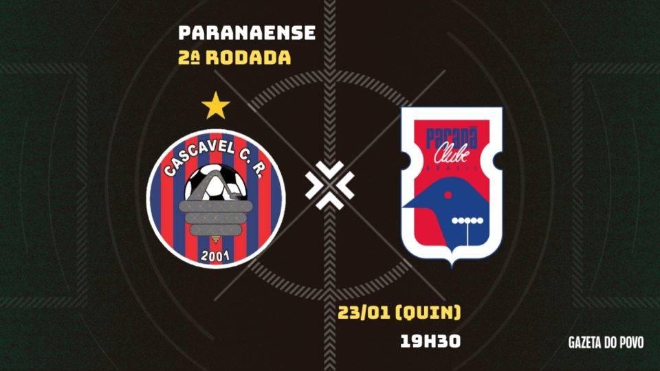 Paraná enfrenta o Cascavel CR fora de casa em busca da primeira vitória. Tudo do jogo!