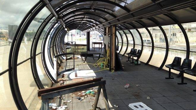 Estação-tubo começou a ser construída em 2018