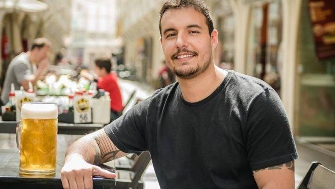 Empresário Luiz Breda, 34 anos.