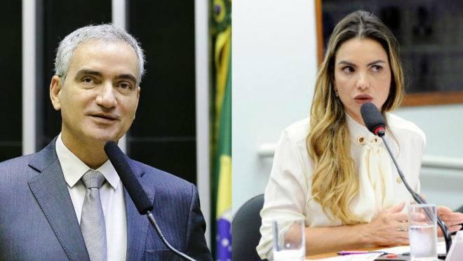 Hercílio Coelho Diniz (MDB-MG) e Paula Belmonte (Cidadania-DF)