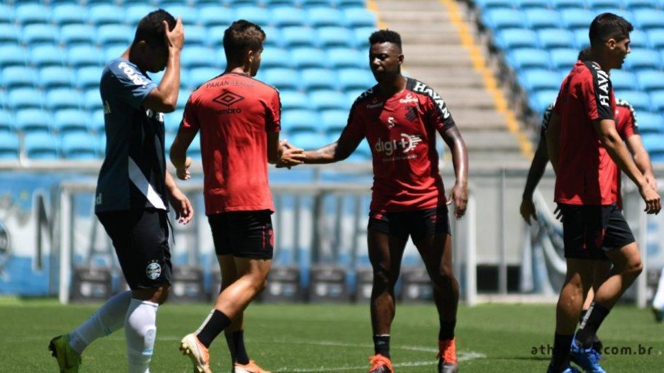 Athletico vence jogo-treino com o Grêmio em Porto Alegre. Confira a escalação do Furacão!