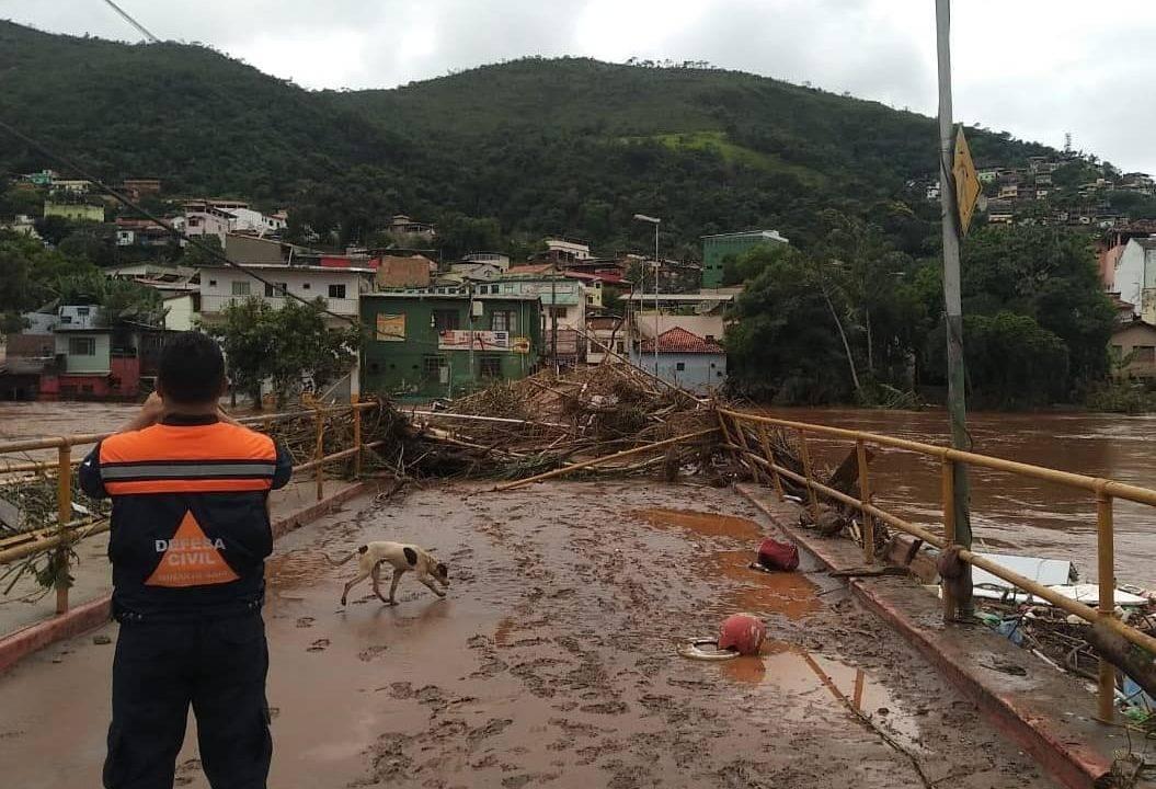 101 cidades decretaram emergência após chuvas em Minas Gerais