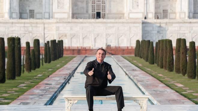 Bolsonaro voltou da Índia e demitiu ministro interino