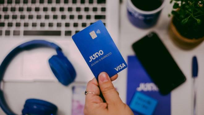 Chegou o cartão Juno